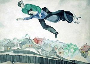 chagall volo sulla città